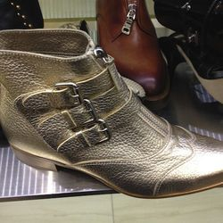 Tabitha Simmons Early Buckle boots, $479 (originally $1,195)