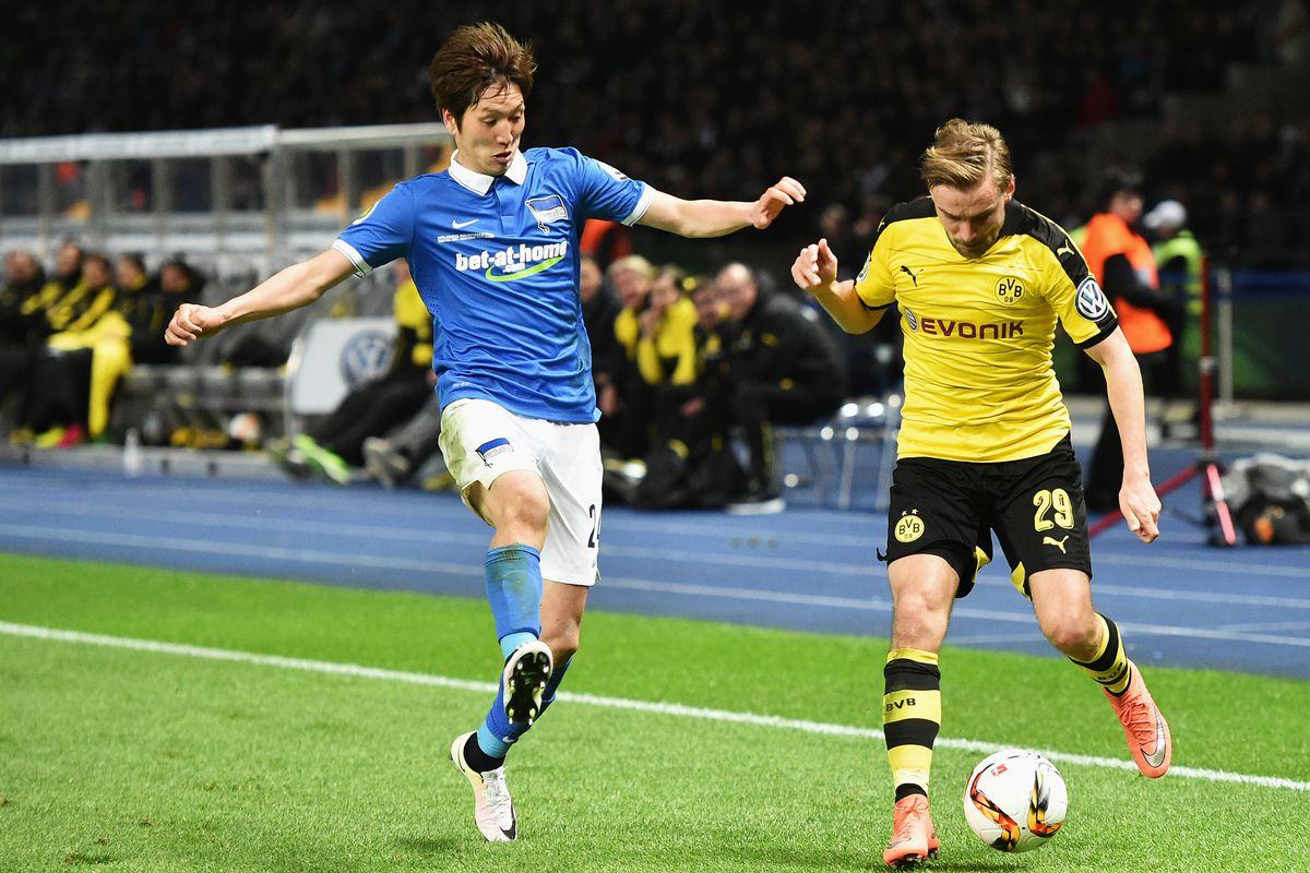 Hertha BSC Berlin v Borussia Dortmund - DFB Cup Semi Final