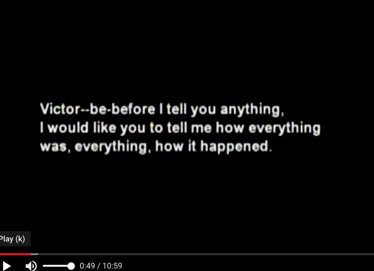 Screen grab of secret federal tapes
