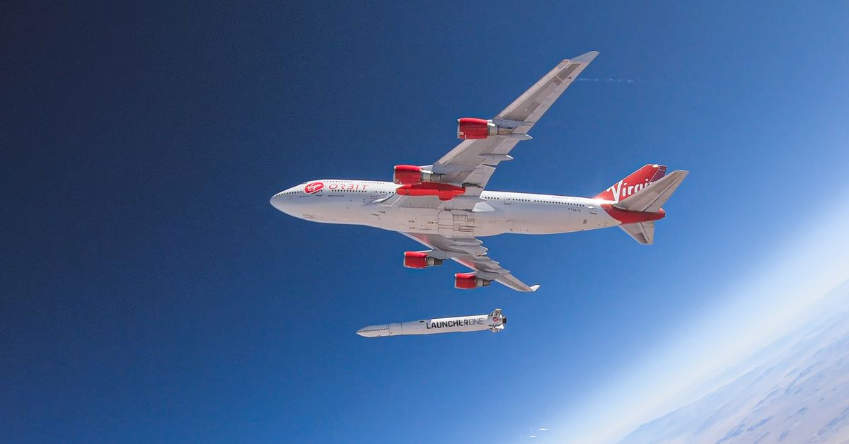 Small satellite launcher Virgin Orbit announces plans to send tiny vehicles to Mars