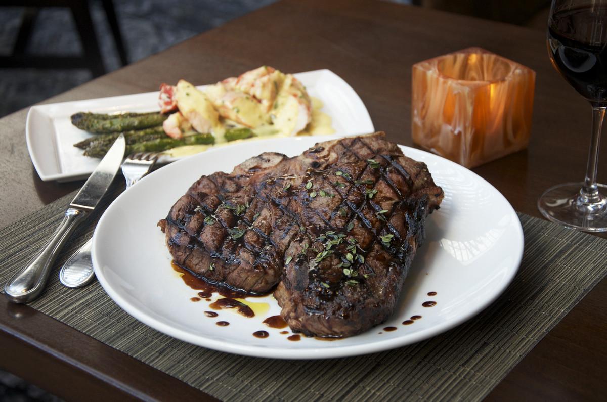 The Porterhouse Brawler at Tom Colicchio's Heritage Steak