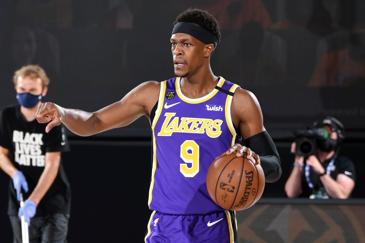 NBA Playoffs Why The Lakers Are Still Playing Rajon Rondo Silver Screen And Roll