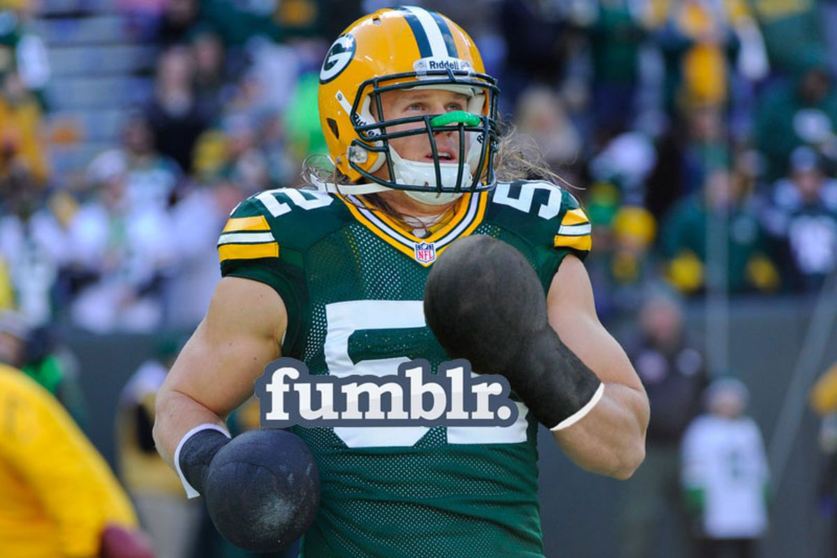 reputable site 0d83c d89fc Fumblr: Let's take away Clay Matthews' thumbs and make him ...
