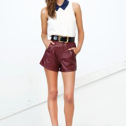 The Polished top and Beauty shorts.