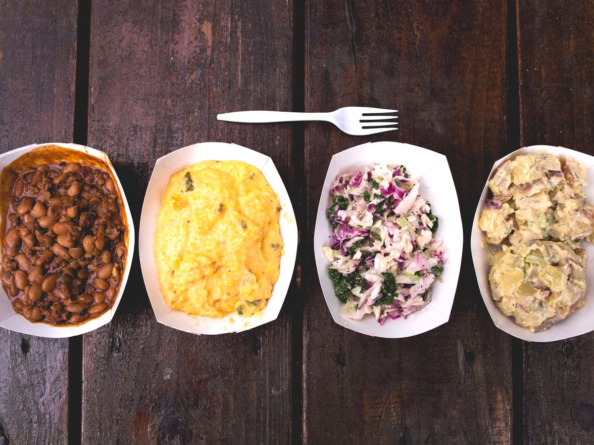 Micklethwat Craft Meats' side dishes