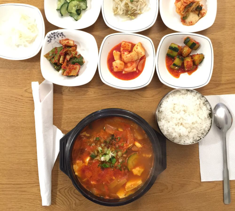 Dishes from Korean Kitchen