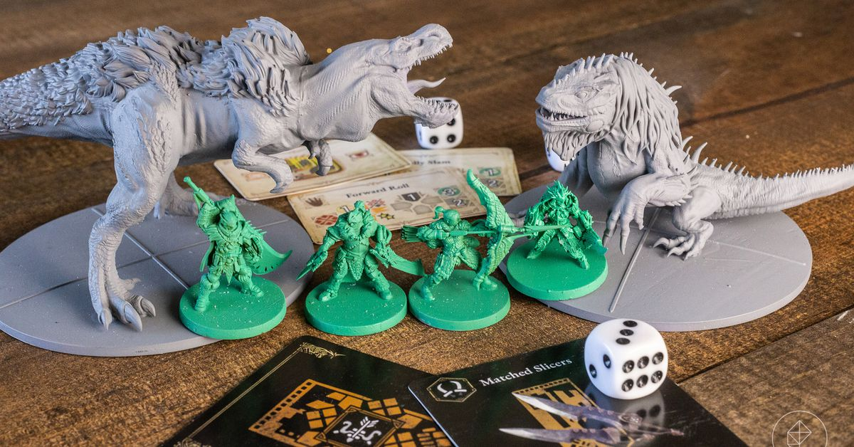 Monster Hunter board game from Steamforged will now include the hunting horn and lance