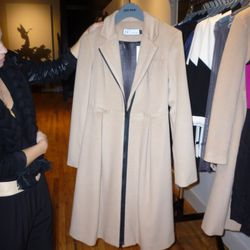 An affordable camel coat from the J/J by Julie Haus line