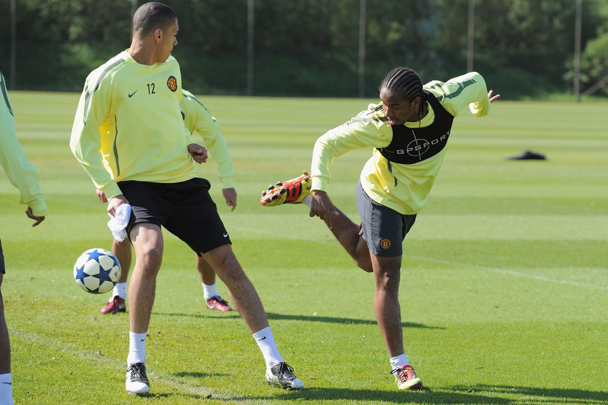 Chris Smalling picked up a knock versus Manchester City while Anderson picked one up in training this week.