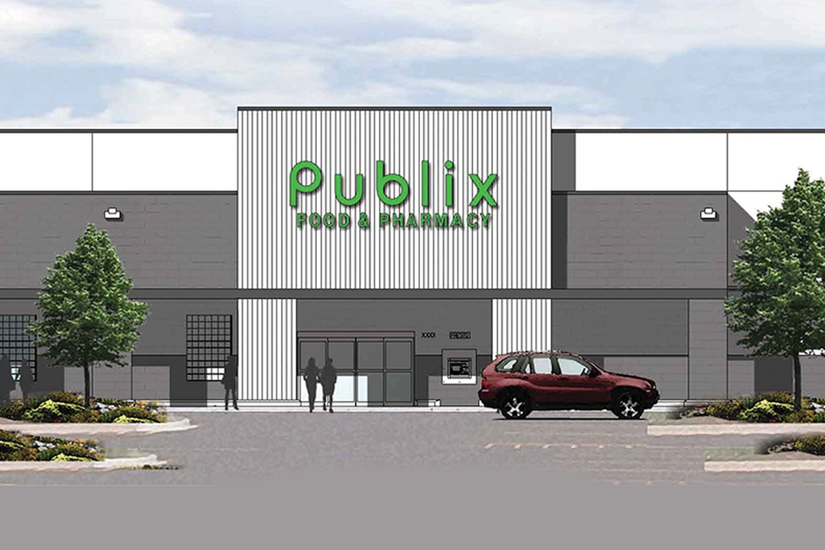 A Publix grocery store.