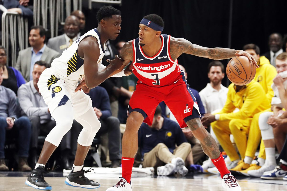 Image result for wizards vs pacers