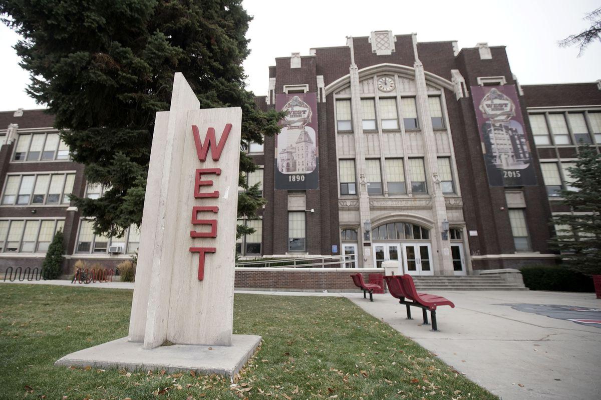 West High School in Salt Lake City on Monday, Oct. 28, 2019.