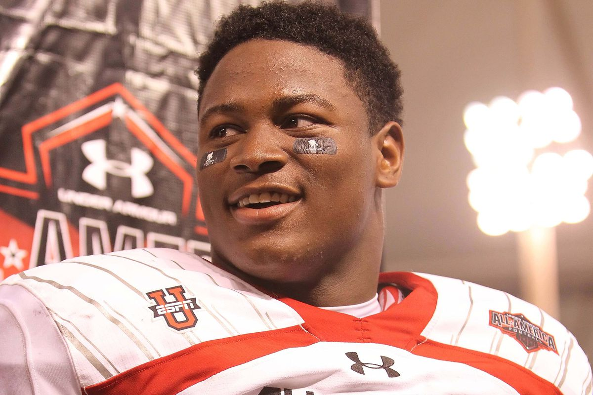 Auburn hopes to sign Reuben Foster on National Signing Day. Don't tweet at him, y'all.