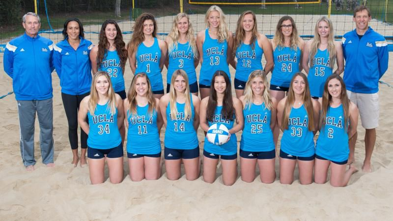 The 2015 UCLA Sand Volleyball Team