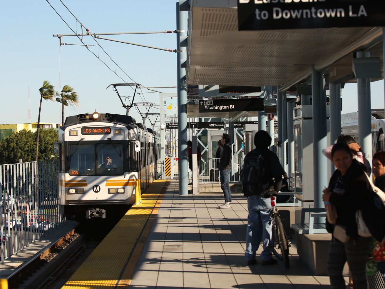 Trains would show up once every eight minutes during rush hour. Gold Line trains now arrive every seven minutes during peak hours, while Expo Line trains come every six minutes