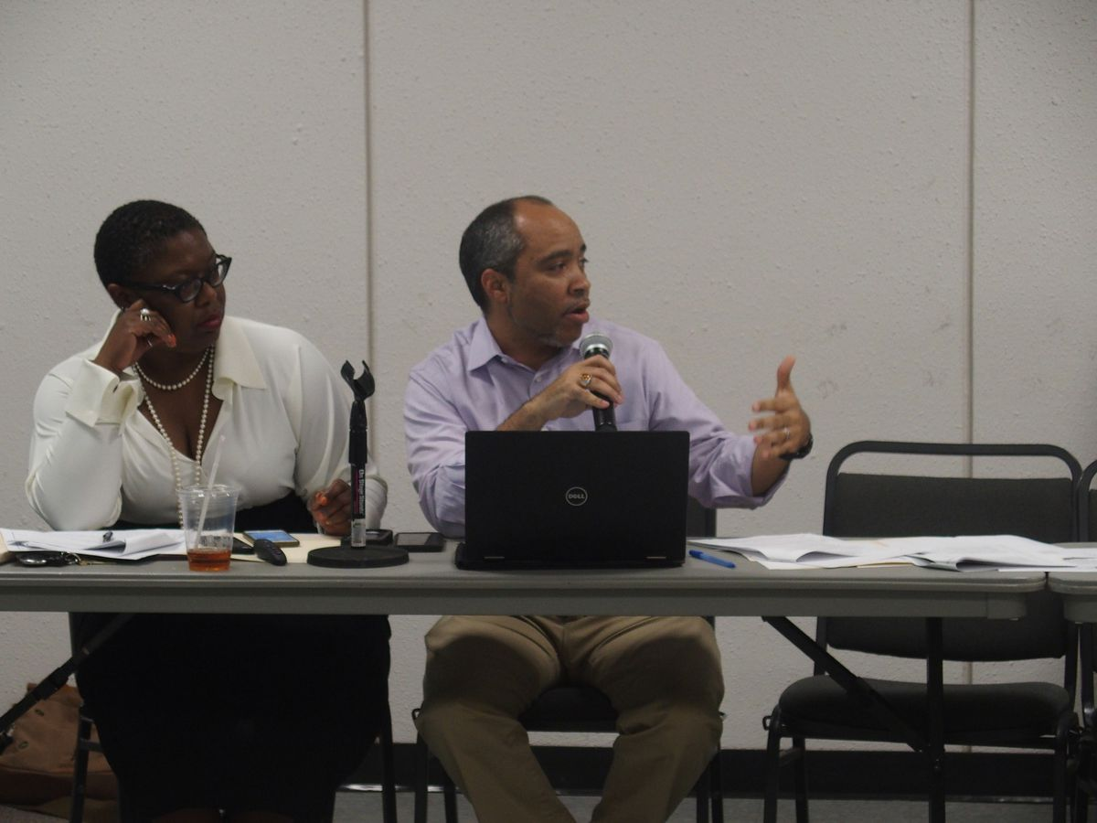Cardell Orrin, Memphis director for Stand for Children, helped facilitate conversation on the Shelby County Schools charter advisory committee in 2016.