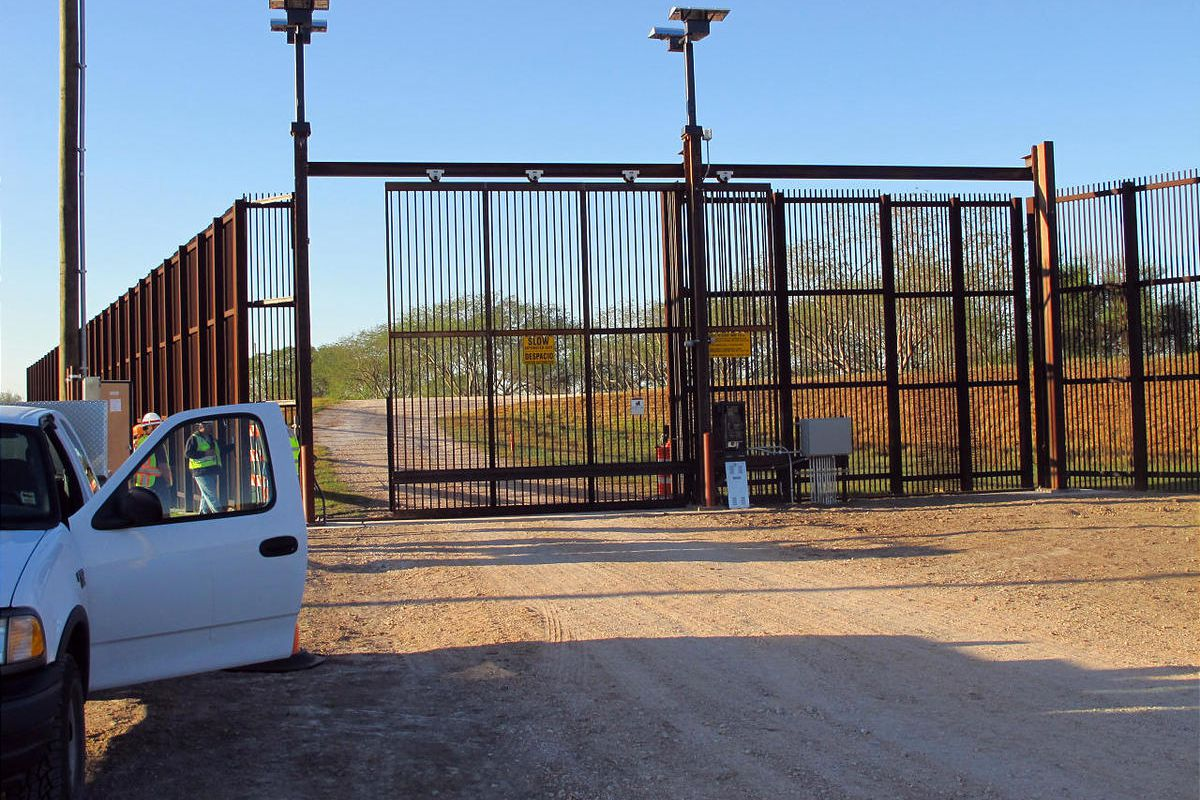 Gates on the U.S.-Mexico border were built to stifle illegal immigration and drug trafficking.
