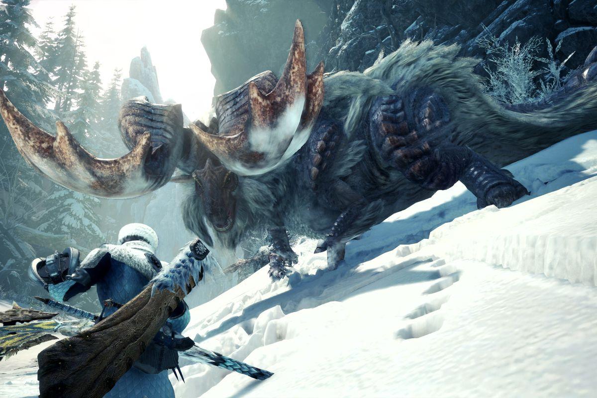 Kết quả hình ảnh cho Monster Hunter World: Iceborne