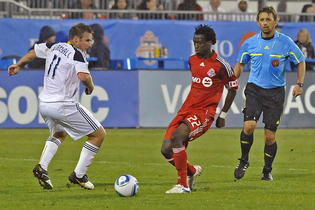 Recovered from a concussion, Amadou Sanyang will play where he's needed for the Seattle Sounders now.
