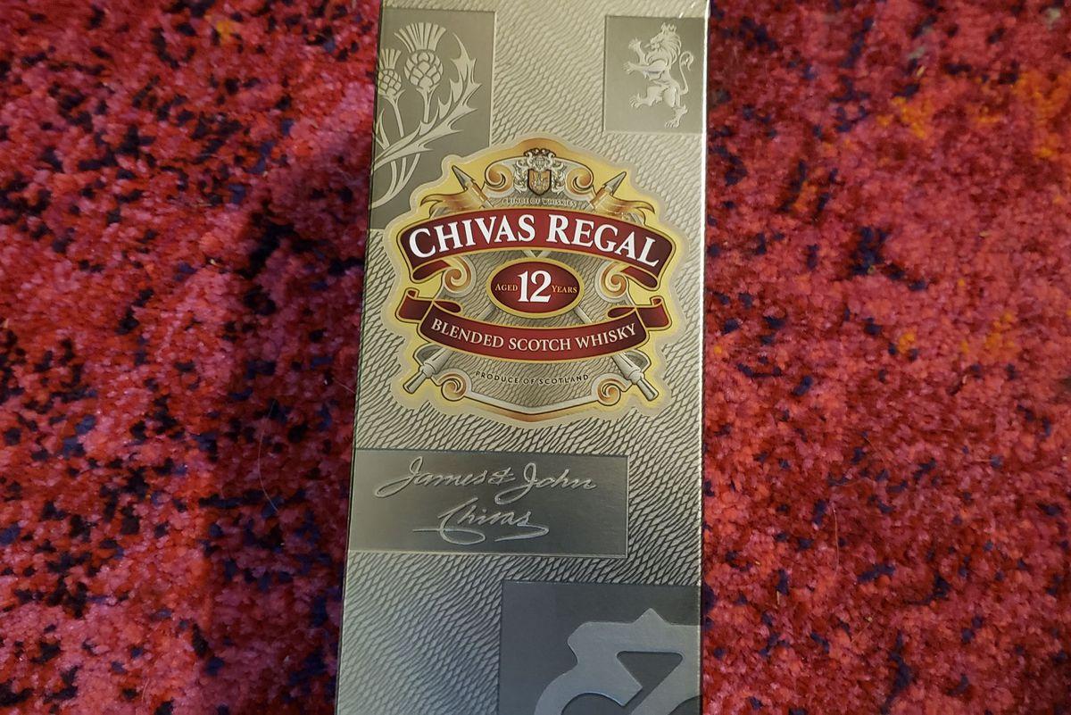 Chivas Regal 12 year old scotch