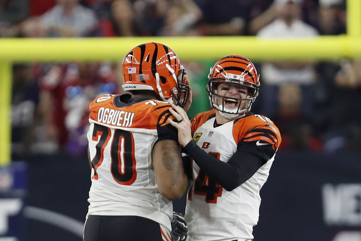 Bengals transition from Andrew Whitworth to Cedric Ogbuehi full