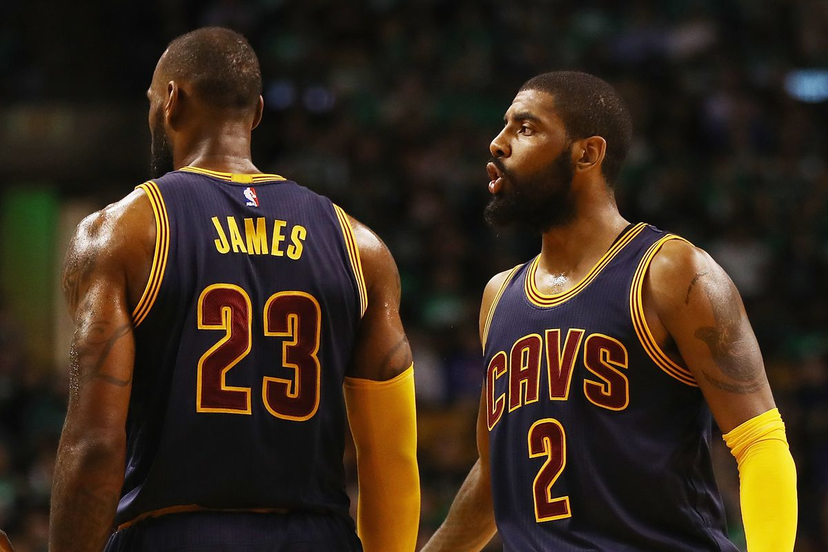 "33371ccf17b9 Former Cavs GM  Kyrie Irving ""Had To Leave"" LeBron To Find Himself (podcast)"