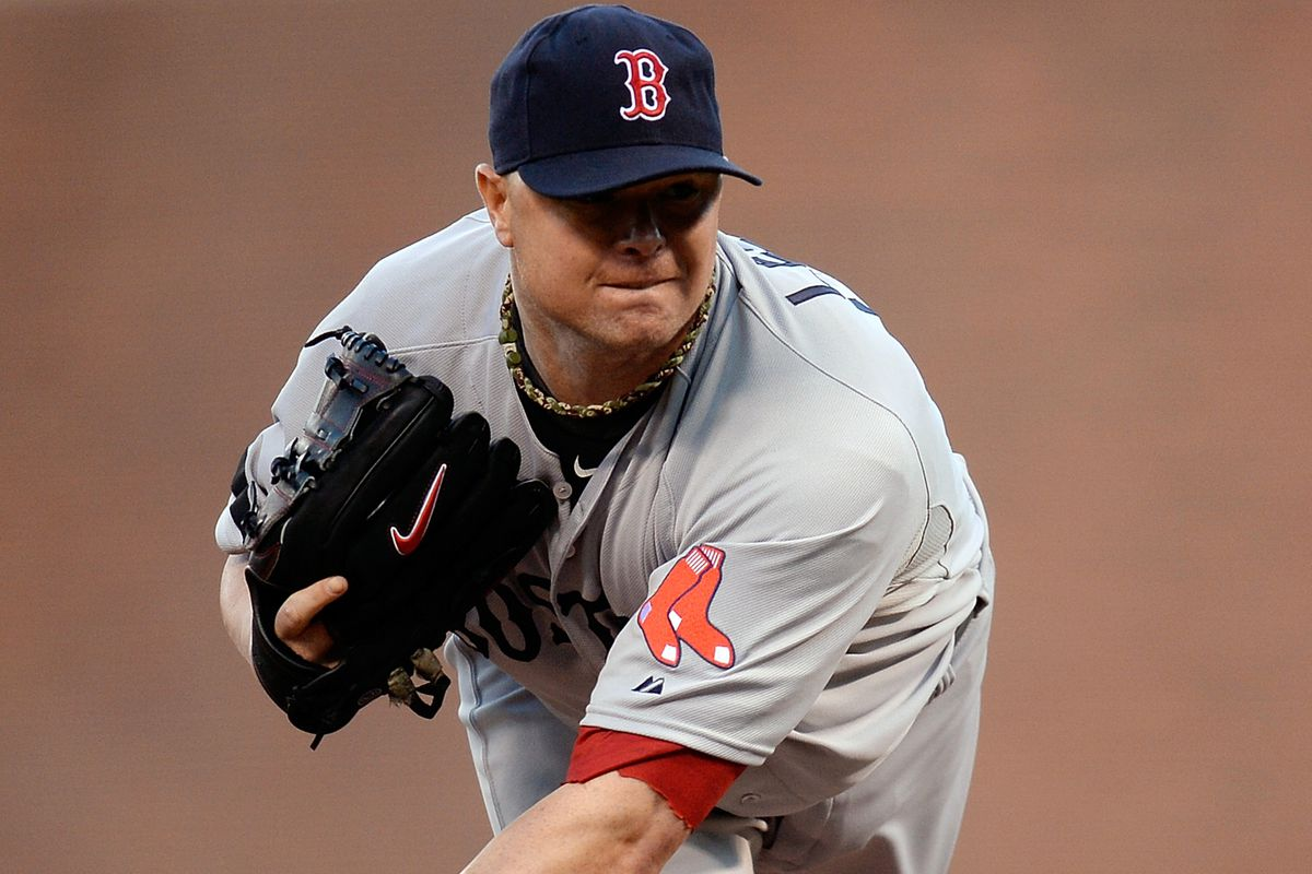 Jon Lester will take the hill in Dempster's place on Saturday against the Dodgers