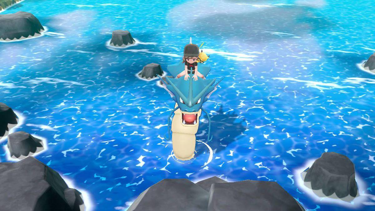 gyarados in pokemon lets go