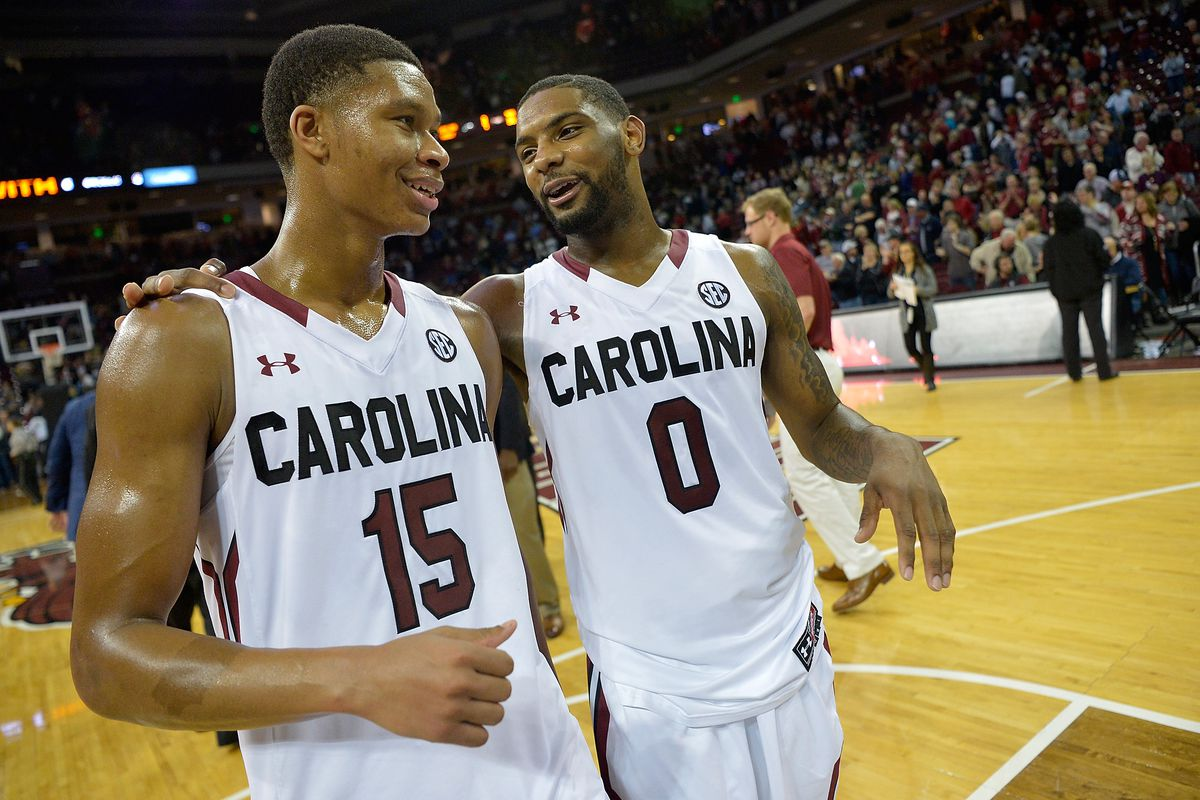 from the student section: finally, a good south carolina basketball