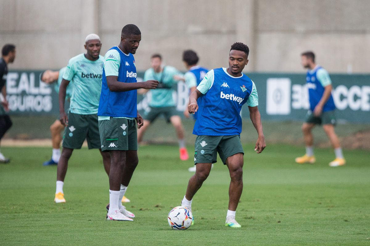 Real Betis Balompie Training Session
