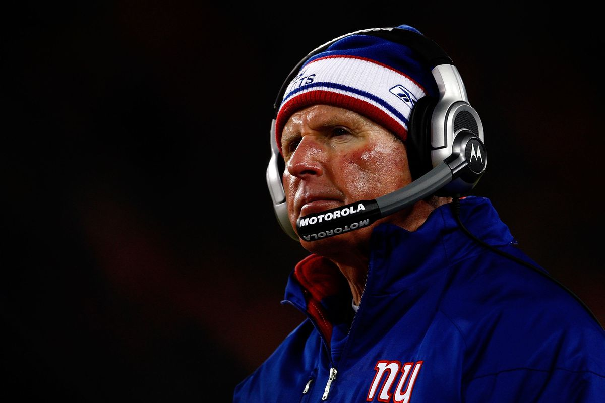Who can forget Tom Coughlin's frozen face?