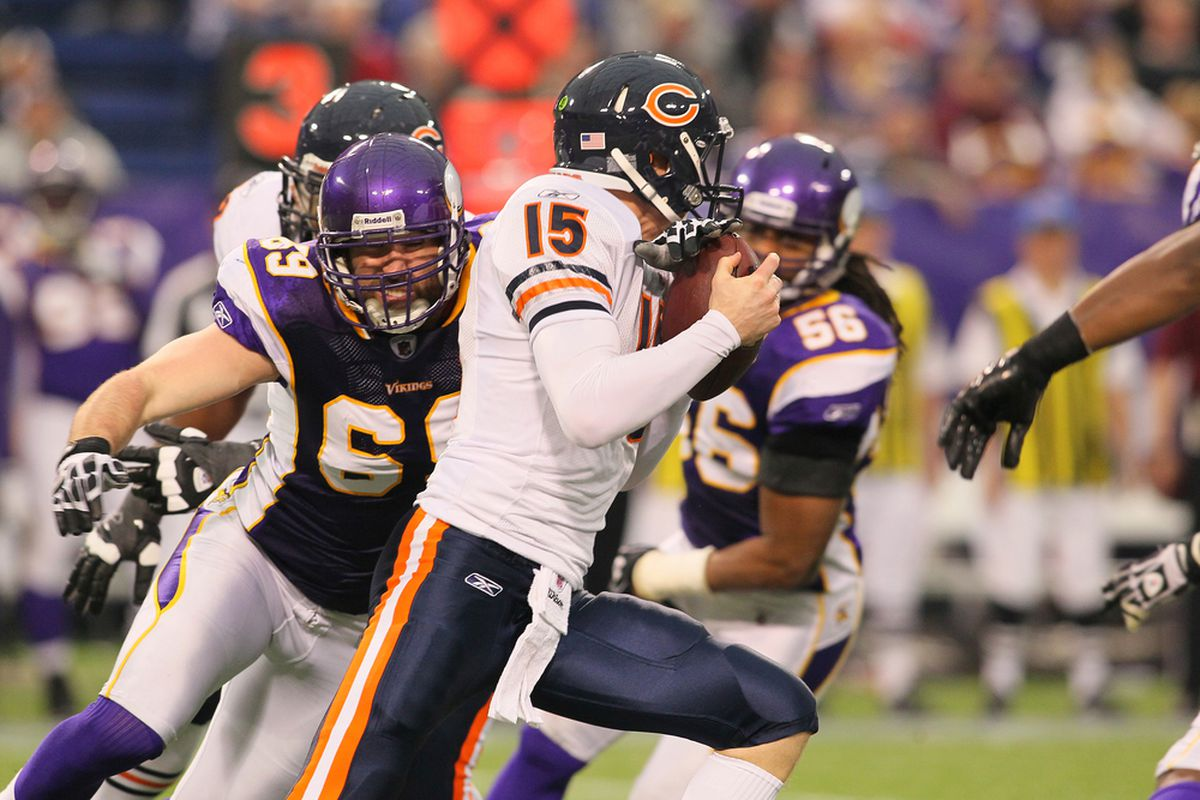 Josh McCown reconsiders having joined JWebb Nation.  Jared Allen reportedly quite a fan.