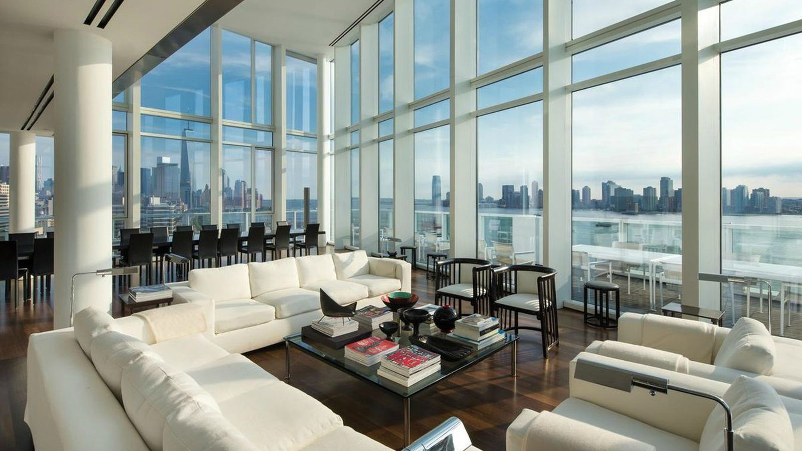 Glassy penthouse at 165 charles street gets 5m price chop for Penthouse for sale nyc