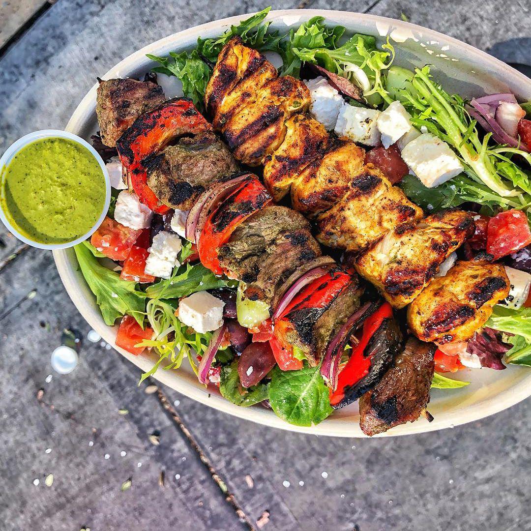 A kebab bowl from the Kebab Shop