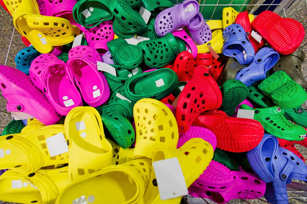In Defense of Crocs Racked
