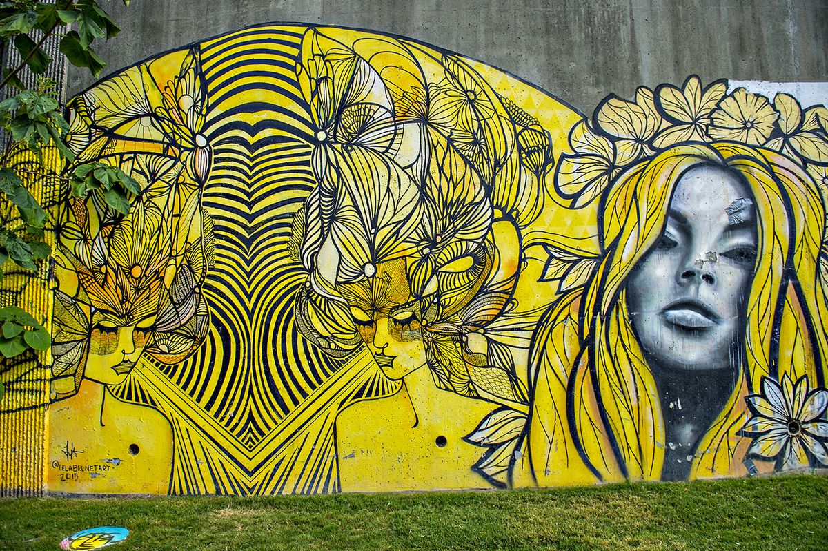 Photos: Atlanta Beltline\'s new Eastside Trail has artful backdrop of ...