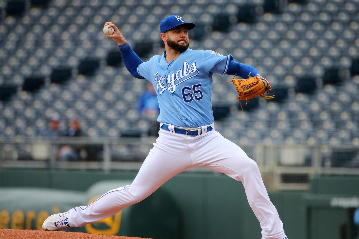 MLB: Game One-Tampa Bay Rays at Kansas City Royals