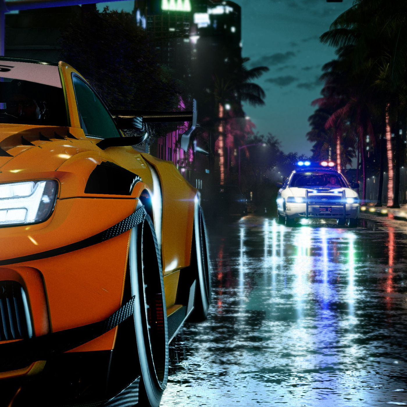 Need For Speed Heat Update Lets You Clean Your Car At Gas Stations