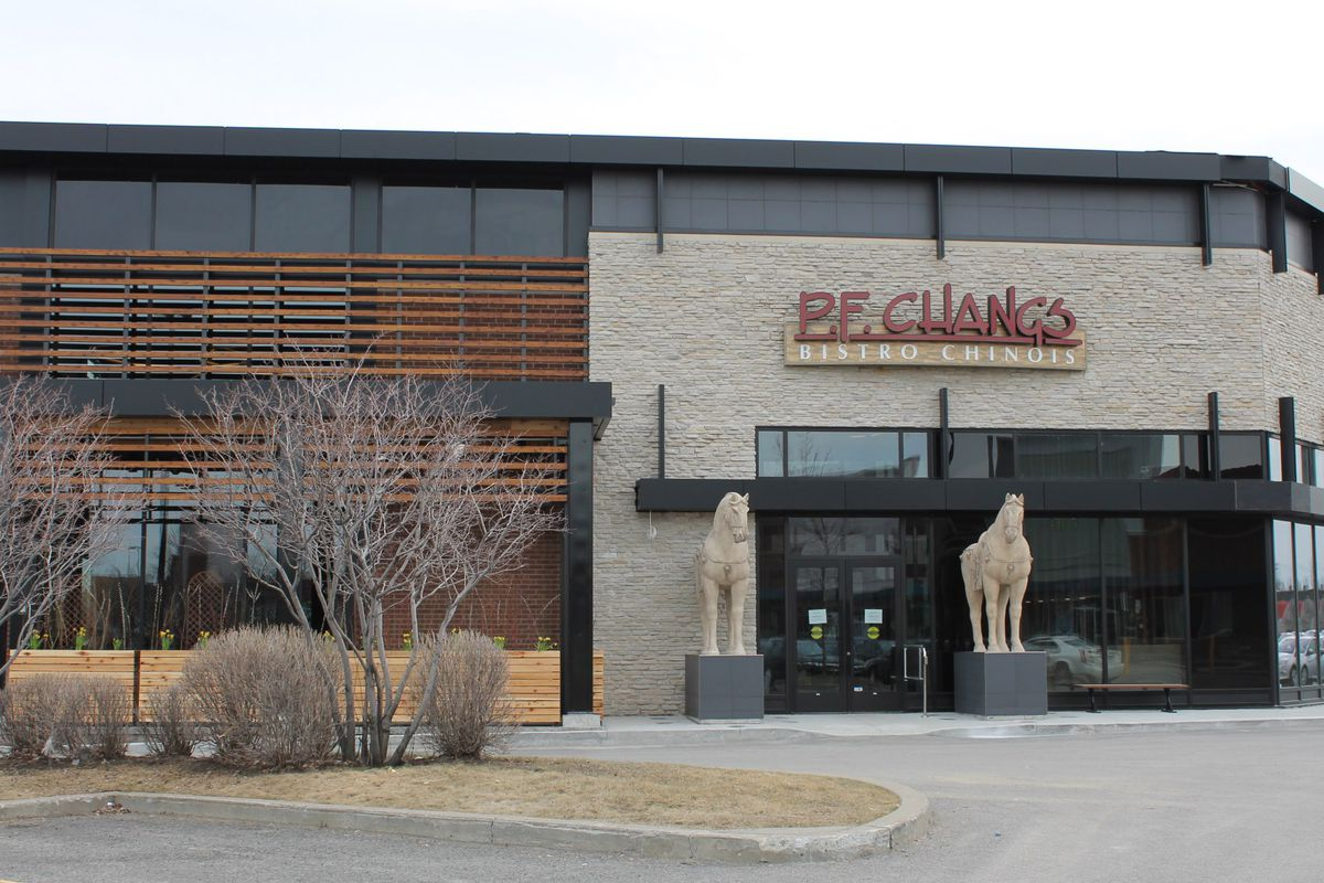 Montreal's only P.F. Chang's restaurant