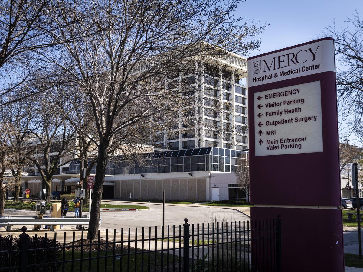 Mercy Hospital & Medical Center, 2525 S. Michigan Ave., on the South Side
