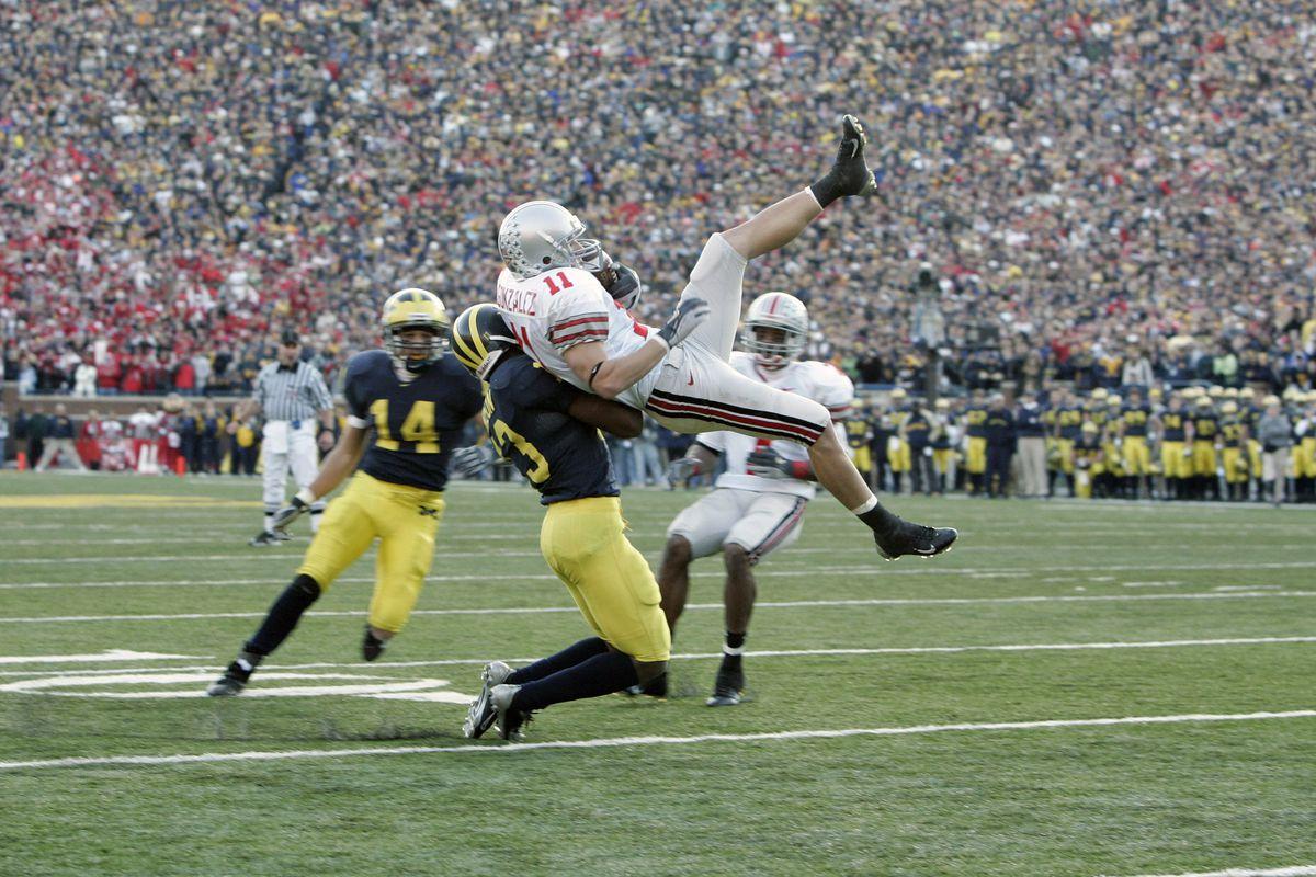 The catch - Anthony Gonzalez, 2005.