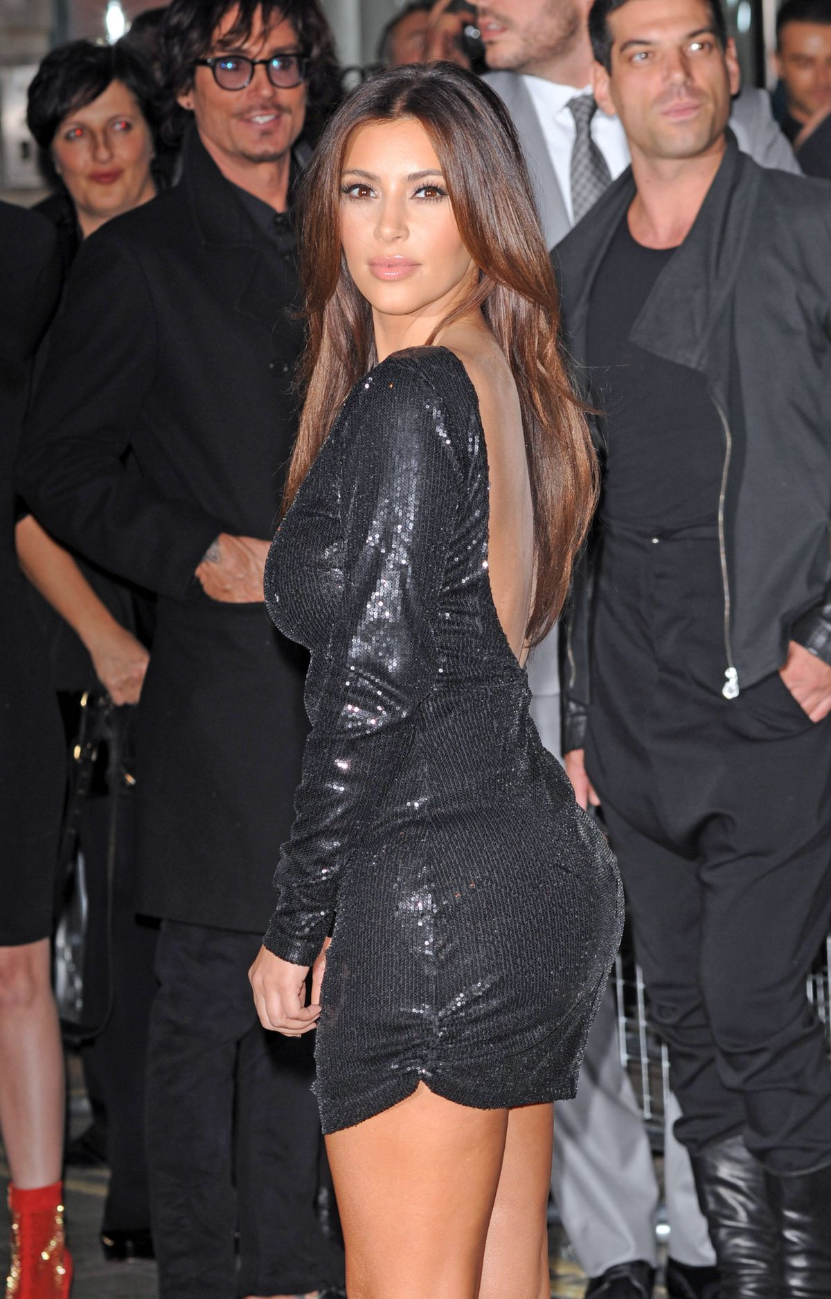 Kim Kardashian on being accused of inventing Saint and how
