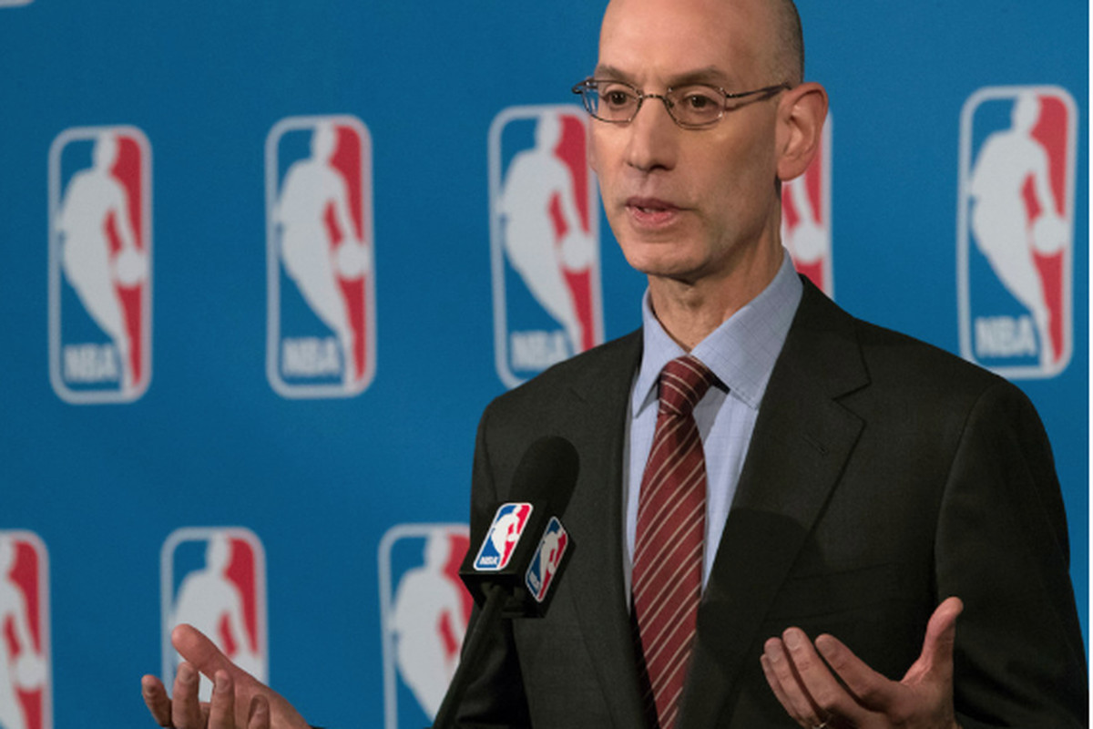 4162fc26da00 NBA commissioner Adam Silver says he is reluctant to get himself or the  league involved in internal team disputes. (Mary Altaffer AP). MEXICO CITY  ...