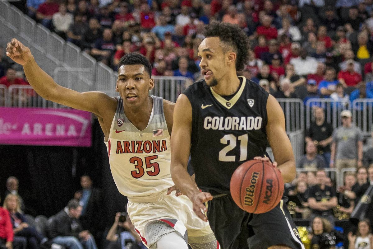 NCAA Basketball: Pac-12 Conference Tournament - Colorado vs Arizona