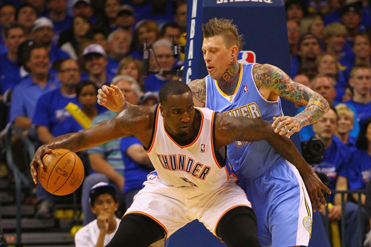 Chris Andersen could help Miami as a defender and rebounder.