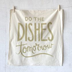 Nourishing Notes makes printed goods for food-lovers, including letterpress-printed greeting cards, kitchen towels, art prints, and tote bags. Items range from $5 to $25.