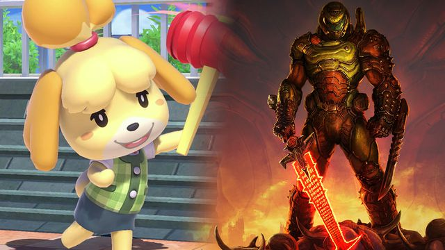 How did Animal Crossing's Isabelle and the Doomguy become best friends?