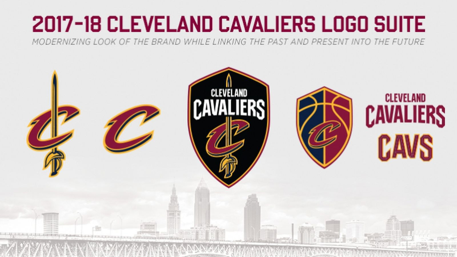 Cavs announce new logo suite for 2017-18 season - Fear The Sword