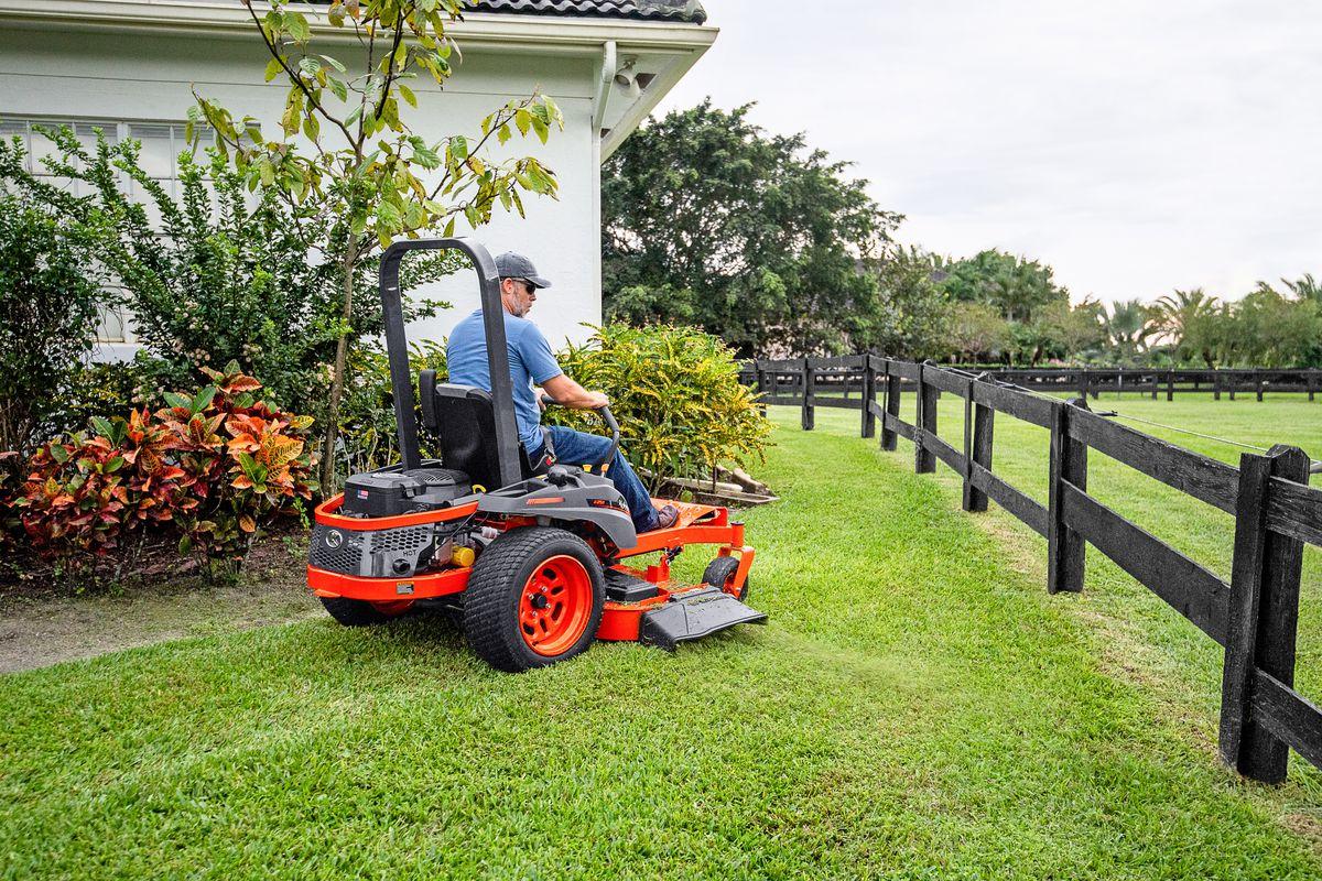Kubota, Lawnmower, Riding Mower, Lawn, Grass, Landscaping