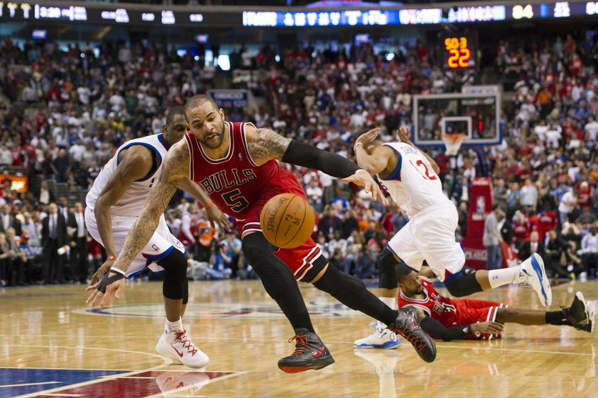 fbbea382a7b NBA Playoffs 2012  Bulls On Brink Of Elimination After Game 4 Loss In Philly  (Chicago Bulls Notebook)